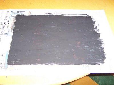 como hacer un dibujo en esgrafiado