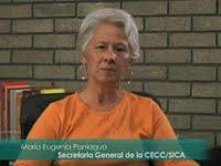 María Eugenia Paniagua (Secretaria General de la CECC/SICA)